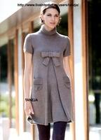 схемы вязание спицами летних платьев. вязанные платья спицами со