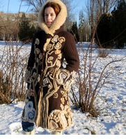 ...как можно преобразить устаревшую дубленку от мастера - Ружина Юлия.