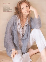 Метки: блуза кофта вязаная кофта вязаная блуза вязание спицами мохер.