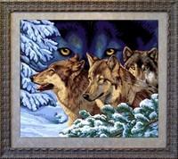 """СХЕМЫ ВЫШИВКИ КРЕСТОМ/волки-лисы. вышивка животных. вышивка. в цитатник. схемы вышивки. a href= """"http..."""