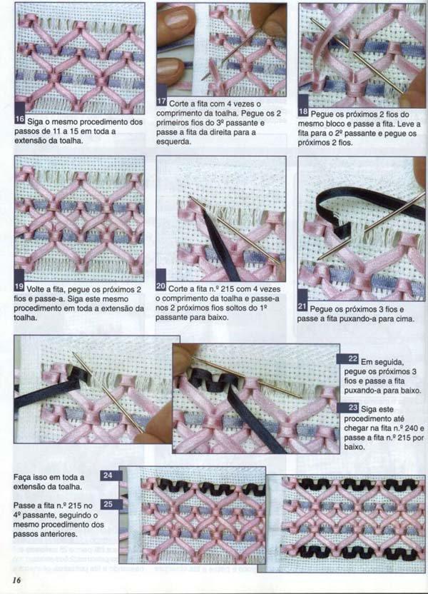 Плетение из двух ленточек - Делаем фенечки своими руками.