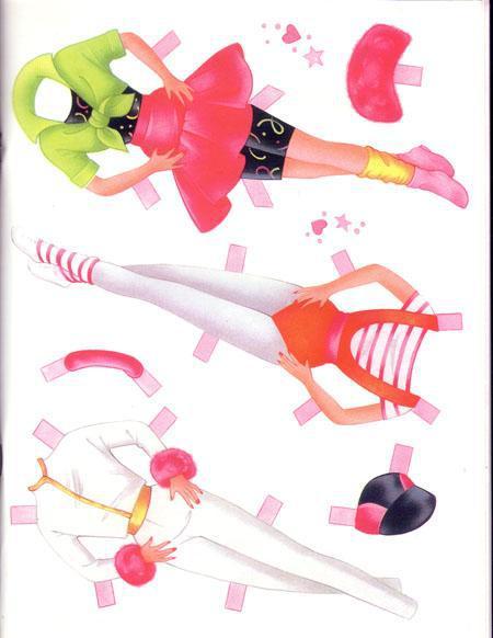 Как сделать куклу барби из бумаги своими руками