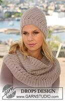 Шарф Drops 134-21 / scarf. http.  Журнал Дропс детские модели на русском...