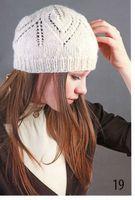 Схема вязания шапочки новорожденного спицами.