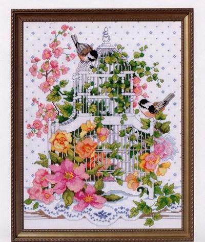 Птицы, птицы, подушка, картина