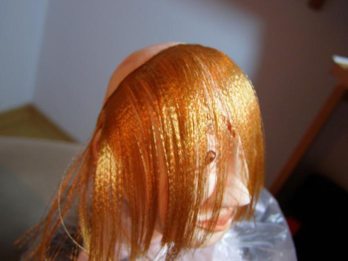 Волосы для кукол из атласных лент (МК)