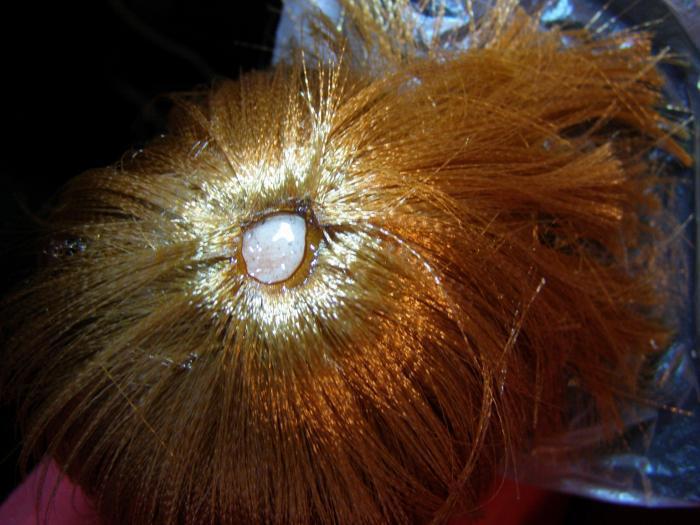 Как из атласных лент сделать волосы кукле из 787