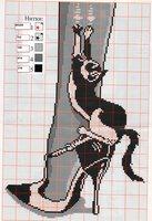Вы можете. скачать схему вышивки крестом черно белая в формате .xsd. который открывается с помощью бесплатной...